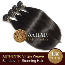 100% Authentic Unprocessed Virgin Brazilian Peruvian Weft Weave Hair Extensions