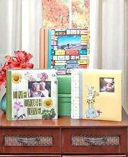 Photo Albums Holds 200 4 X 6 Photos With Memo Space Travel Baby Family Album