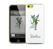 Personalised (option) Peter Pan Pixie Dust Fairy Quote glossy phone cover case.