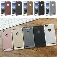 PVC Phone Case Cover Solid Hard Cellphone Protective Housing for Apple UTAR02