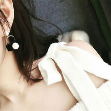 Stud Earrings 1Pair Design For Women Pearl Earrings Earring Cute Velvet Pearl