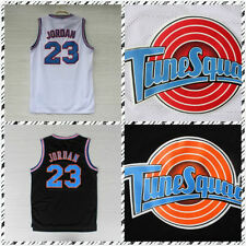 NEW Space Jam Jerseys Michael Jordan 23 Basketball Tune Squad LOONEY TOONES 2017