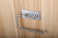 Stainless Steel Toilet Paper Holder Bathroom Tissue Easy Wall Mount Paper Roll