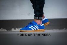 Adidas Hamburg Bluebird White Gum Men's Trainers All Sizes S76697