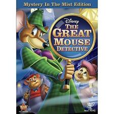 The Adventures of the Great Mouse Detective (DVD, 2010, Mystery in the Mist Edit