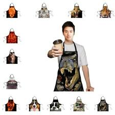 Polyester Animal Image Restaurant Household Kitchen Waterproof Cooking Apron
