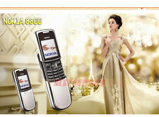 Nokia 8800 Mobile Phone Support English Arabic Russian keyboard GSM FM Bluetooth