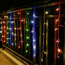 3Mx1M 144 LED Fairy Curtains String light for Xmas Wedding Party Multi-color