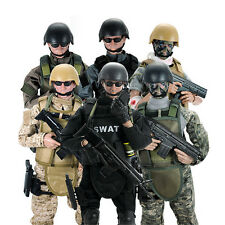 1/6 12'' Military Army Soldier Action Figures Special Force S.D.U SWAT Toy Boxed