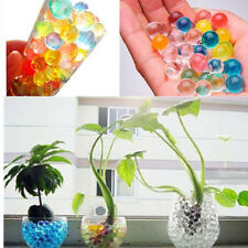 10Bags Jelly Crystal Colorful Water Plant Flower Soil Mud Hydro Gel Beads Balls