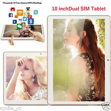 "10"" Android 4.4 HD Dual SIM Camera 3G Octa Core Bluetooth Tablet 16GB WIFI"