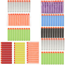 100 Pcs Refill Bullet Darts for Nerf N-strike Blasters Toy Gun & Tactical VestHC
