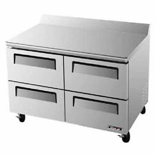 Turbo Air TWF-48SD-D4, 4 Drawer Worktop Freezer