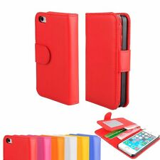 Leather Magnetic Closure Wallet Flip Pouch Case Cover For Apple iPhone 5 5S