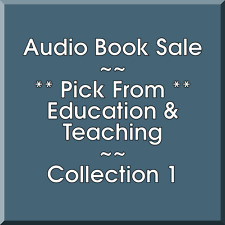Audio Book Sale: Education & Teaching (1) - Pick what you want to save