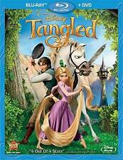 Tangled Blu-ray+DVD 2 Disc Combo Pack Disney Favorite - Brand New - Ships Fast