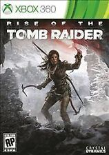 RISE OF THE TOMB RAIDER * XBOX 360 * BRAND NEW FACTORY SEALED!