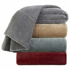 Vellux Plush Lux Blanket (Select Size / Color) *** FAST SHIPPING ***