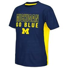 University of Michigan Wolverines Youth Tee Performance Poly Logo T-Shirt