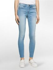 calvin klein womens curvy skinny ankle jeans