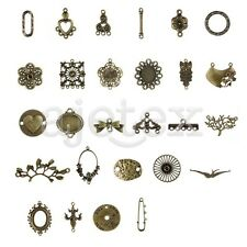27 Style 3-100pcs Antitue Brass Accessory Connector Jewelry Finding