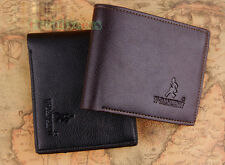 Fashion Men's Soft Wallet Pockets Card Clutch Cente Bifold Purse Travel Wallet