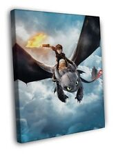 How to Train Your Dragon Animated Film Print CANVAS UK