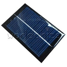 0.6W/1W 0.5V/6V 100mA Epoxy Solar Panel Module Cell Photovoltaic Battery Charger