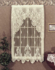 Heritage Lace Windsor Panels, Valances or Swag Pairs  Colors :Antique or Ecru