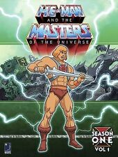 He-Man and the Masters of the Universe - Season 1: Volume 1 (DVD, 2005, 6-Disc
