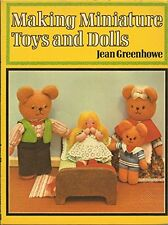 USED (GD) Making Miniature Toys and Dolls by Jean Greenhowe