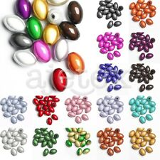 15pcs Acrylic Rice Miracle Beads Illusion Jewelry Crafts 14x9.5x9.5mm 18 Colors