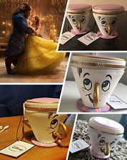 BEAUTY AND THE BEAST Chip 3D Cup Coin Purse Bags Wallet Handbag Gift Trinket