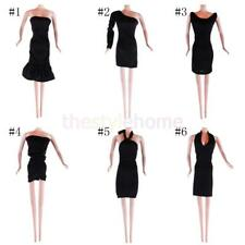 Black Fashion Party Dress Evening Dress Wedding Clothes/Gown for Barbie Doll