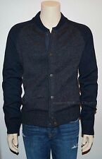 New Abercrombie & Fitch Men's McLenathan Bay Wool Sweater Jacket Size M, L