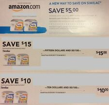 Save $30 with $25 Similac formula in-store coupons and $5 online code Exp 6/8/17