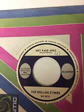 Rolling Stones 45 rpm record - Not fade Away