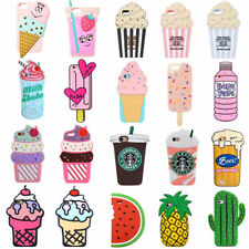 3D Cute Summer ICE Cream Bottle Soft Silicone Case Cover Back Skin For iPhone