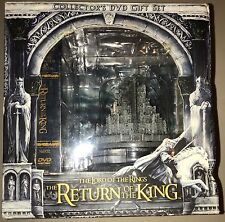 Lord of the Rings Return of the King Disc DVD Collectors Gift Set-opened/unused