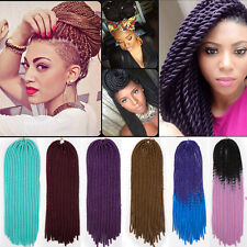 US Dreadlocks Crochet Hair Ombre New Braiding Synthetic Braids Hair Extensions