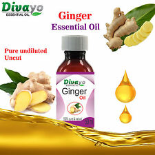GingerAroma Oil 100% Natural Pure Undiluted Uncut Essential Oil 15 ml to 100 ml