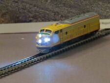 F7 Marklin Z Yellow AUnion Pacific Diesel Loco