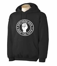 NORTHERN SOUL KEEP THE FAITH HOODY - Mod T-Shirt Wigan Casino Motown - S to XXL