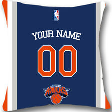Custom zippered New York Knicks Pillow Case With Your Name and Numbers L962