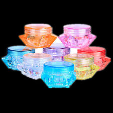10PCS Clear Face Cream Makeup Eyeshadow Cosmetic Empty Jar Pot Container Hot