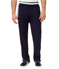 Sean John Mens Taped French Terry Athletic Track Pants