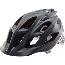 Fox Flux Creo Helmet 2017 Black/White - Men's MTB Mountain Bike Helmet