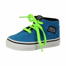 New Vans T Half Cab Suede Boots Brilliant Blue