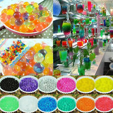 Magic Ball 10Bags Jelly Crystal Mud Soil Water Beads Flower Plant Wedding Decor