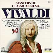 Masters Of Classical Music: Vivaldi 1990 by Budapest Strings - Disc Only No Case